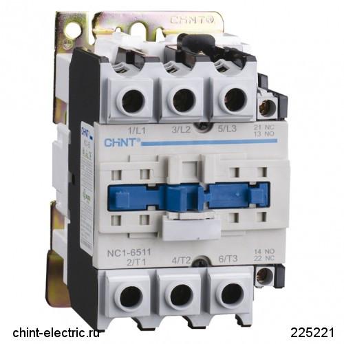 Контактор NC1-8011 80А 24В/АС3 1НО+1НЗ 50Гц (CHINT)