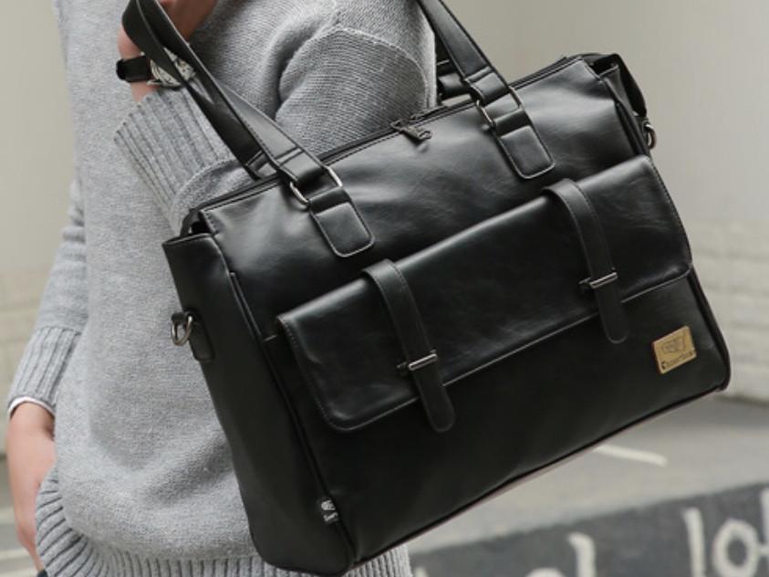 Мужская кожаная сумка. Модель 63223
