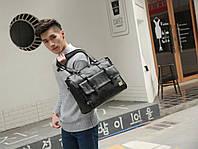 Мужская кожаная сумка. Модель 63223, фото 7