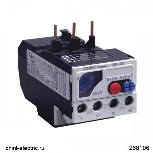 Тепловое реле NR2-25 2.5-4A (CHINT)