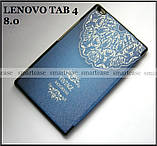 Светлый синий Vintage (джинс) чехол Lenovo Tab 4 8 8504X tb-8504F, чехол книжка молодежный, TFC эко кожа pu, фото 7