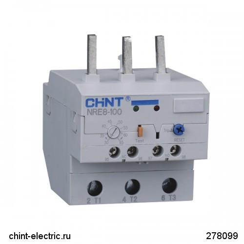 Електронне реле NRE8-100 30-65A (CHINT)
