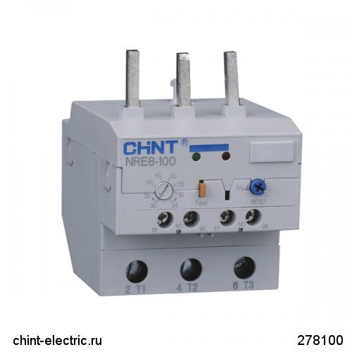 Электронное реле NRE8-100 50-100A (CHINT)