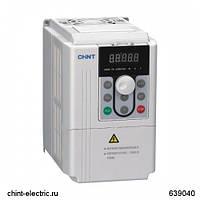 Перетворювач частоти NVF2G-3.7/PS4, 3.7 кВт, 380В 3Ф, тип для вентиляторів і водяних насосів (CHINT)