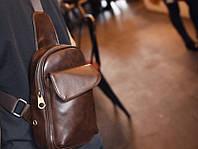 Мужская кожаная сумка. Модель 63229, фото 7
