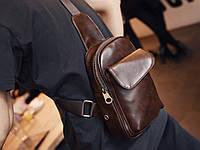 Мужская кожаная сумка. Модель 63229, фото 2