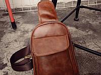 Мужская кожаная сумка. Модель 63229, фото 8