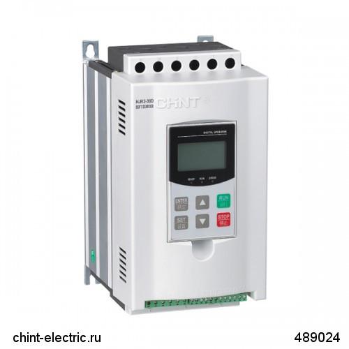 Устройство плавного пуска NJR2-30D, 57А, 30кВт (CHINT)