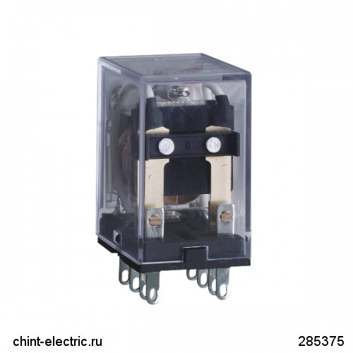 Промежуточное реле JZX-22F(D) 4 конт. с инд. LED 3А 24В AC (CHINT)