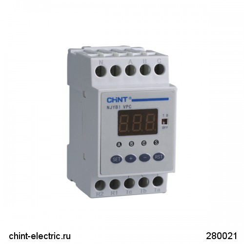 Реле контроль фаз NJB1-X AC380V (CHINT)