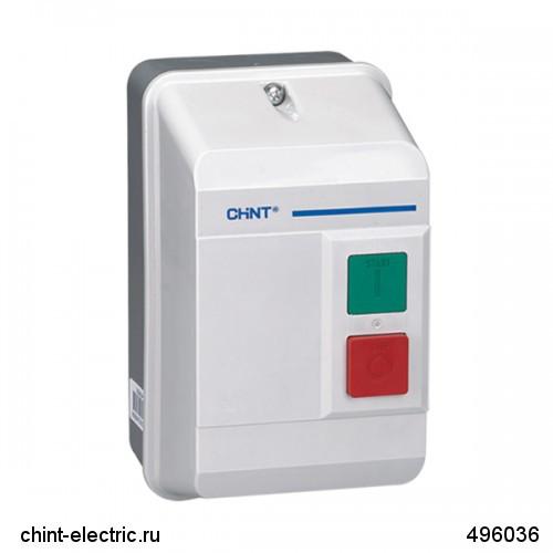Электромагнитный пускатель в корпусе NQ3-5.5P 5.5-8A AC220В IP55 (CHINT)