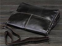 Мужская кожаная сумка. Модель 63234, фото 8