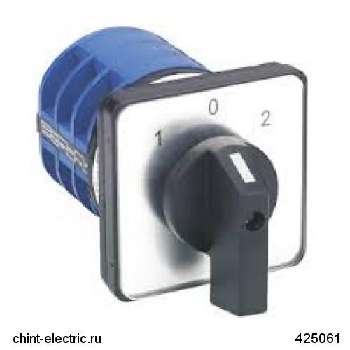 Кулачковий перемикач LW32-25/C02/1 , 25А, 2Р, 0-1 (CHINT)