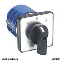 Кулачковый переключатель LW32-25/C33/3 , 25А, 3Р, 1-2 (CHINT)