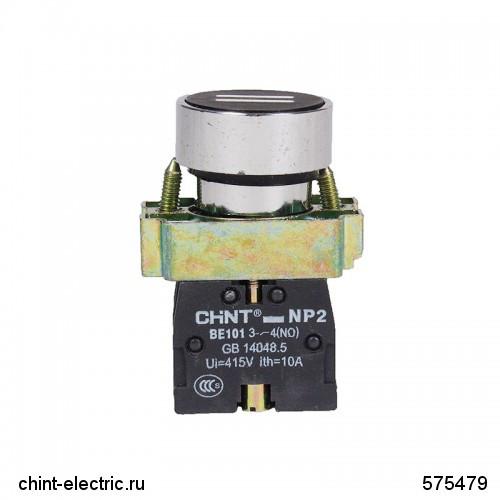 Кнопка управління NP2-BA2365 з маркуванням, 1НО +1НЗ IP40 (CHINT)