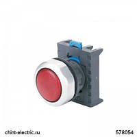 Индикатор NP8-D/1 белый AC110-230В