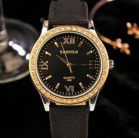Женские наручные часы Yazole WW0323-324 Black Black