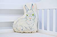"""Подушка для детской кроватки из хлопка """"Кролик"""", фото 1"""