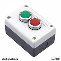 Кнопочный пост NPH1-3006, 1НО+1НЗ +сигн.лампа, АС/DC24В