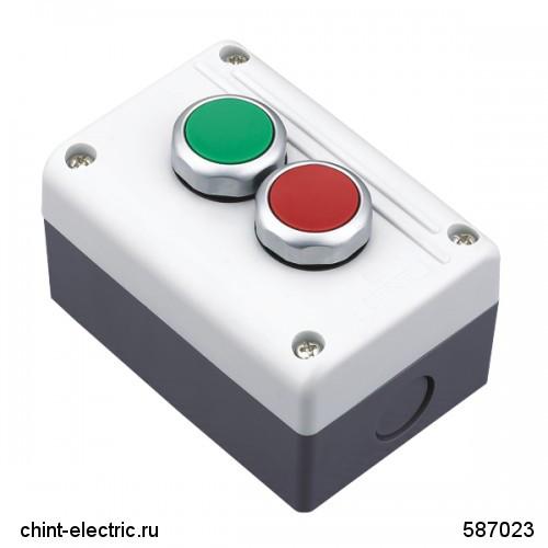 Кнопочный пост NPH1-3003, 1НО+1НЗ +1НО