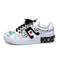 Кеды Dolce&Gabbana , слипоны, туфли без каблука, фото 1