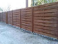Современный плетенный забор из дерева LNK, фото 1