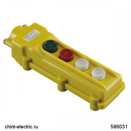 Пульт кнопочный NP3-2А , 4 кнопки + Включено+Выключено IP65