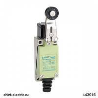 Вимикач шляховий YBLX-ME/8122 з горизонтальним плунжером прямого тиску (CHINT)
