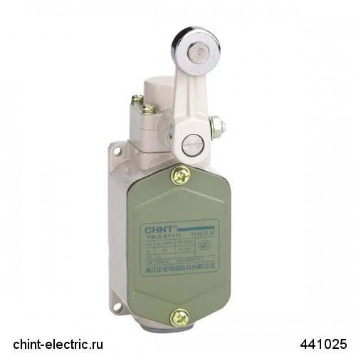 Выключатель путевой YBLX-K1/111 c одинарным роликом (CHINT)