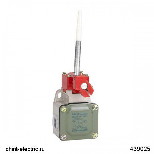 Выключатель путевой YBLX-K3/20S/Z с толкателем (CHINT)