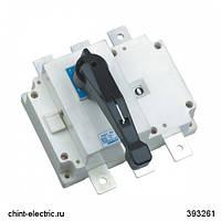 Выключатель-разъединитель NH40-125/3, 3Р, 125А, стандартная рукоятка управления (CHINT)