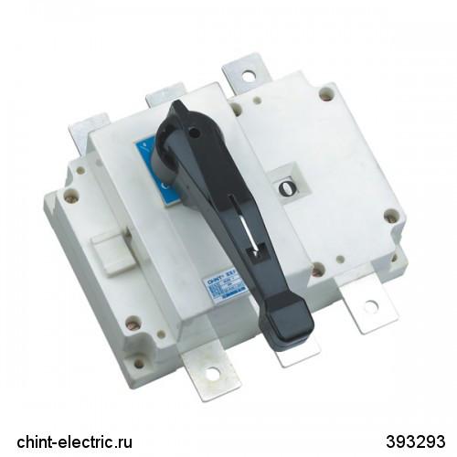 Выключатель-разъединитель NH40-630/4W, 4Р, 630А, выносная рукоятка управления (CHINT)