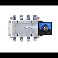 Перекидной рубильник NH40-1000/3CSW, 3Р, 1000А, 3 положения I-0-II, выносная рукоятка управления (CHINT)
