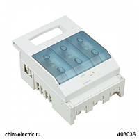 Откидной выключатель-разъединитель NHR17, 3P, 63А, без вспомогательных контактов (CHINT)