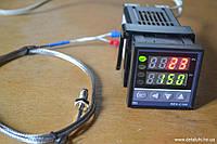 ПИД регулятор температуры Rех-C100 (RKC) + термопара, выход - SSR