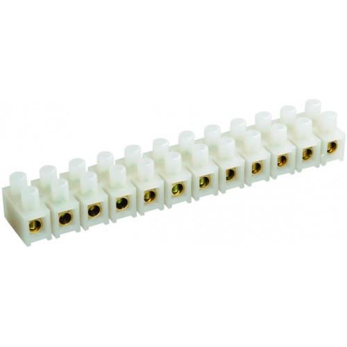 Зажим винтовой ЗВИ-15 1.5-6mm2 12пар белый