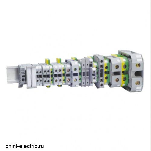 Заглушка для ЗНИ-4-6-10мм2(JXB35-50А) серый (уп./100 шт)
