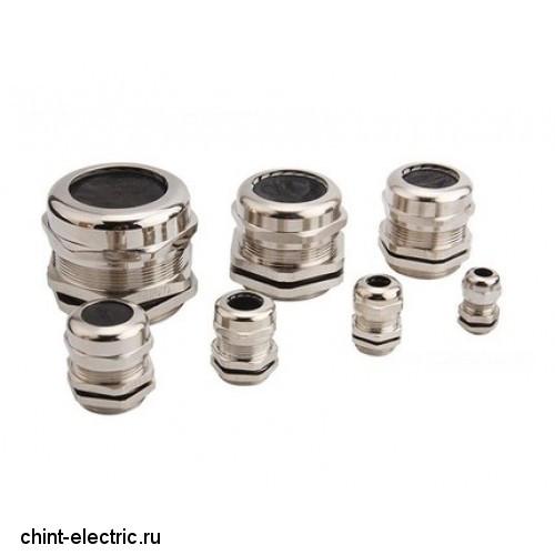 Металлический кабельный ввод PG21 диаметр проводника 13-18мм IP68