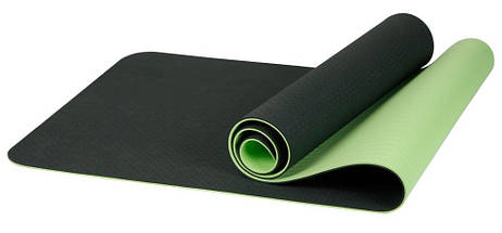 Коврик для йоги «LiveUp» LS3237-06g TPE YOGA MAT 1730x610x6мм, фото 3