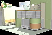 Дизайн рецепшена, стойка, кассовое место, фото 1