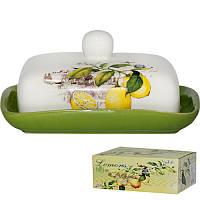 Масленка керамическая 'Лимон' 3397-7