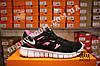 Кроссовки Nike Free Run 2.0 Black Pink Черные женские, фото 3