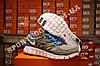 Кроссовки Nike Free Run 2.0 Gray Blue Серые мужские, фото 2
