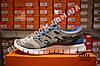 Кроссовки Nike Free Run 2.0 Gray Blue Серые мужские, фото 4