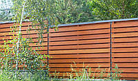 Высокий коттеджный забор LNK