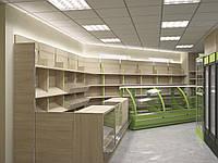 Торговое оборудование для продуктового магазина, фото 1
