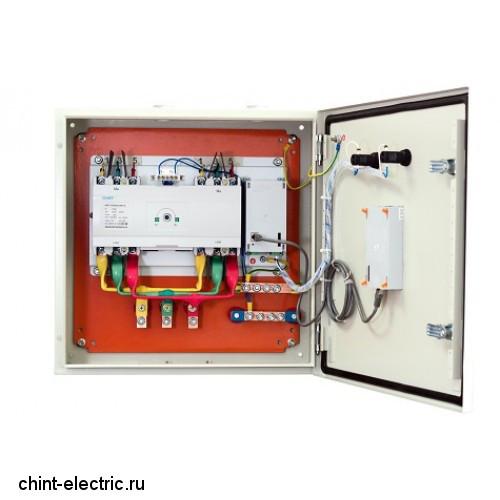 Шкаф АВР 200А IP54 (автоматический ввод резерва)