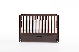 Детская кроватка Верес соня ЛД13 120*60 маятник с ящиком орех