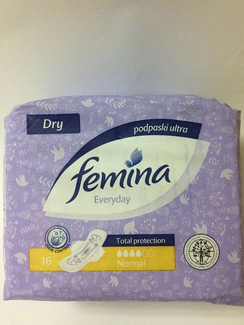 Прокладки женские Fimina Ultra Normal 16 шт, фото 2