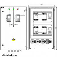 Шкаф АВР на 3 ввода 200А, фото 1